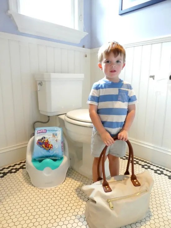 Potty Training Packing List - Toddler
