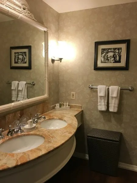 Disney's Grand Floridian Review - Bathroom