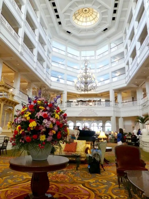 Disney's Grand Floridian Review - Lobby