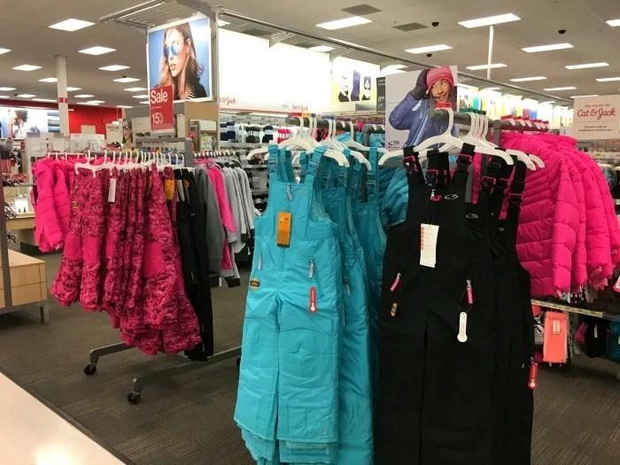 Money Saving Tips for Skiing - Target Clothing Selection