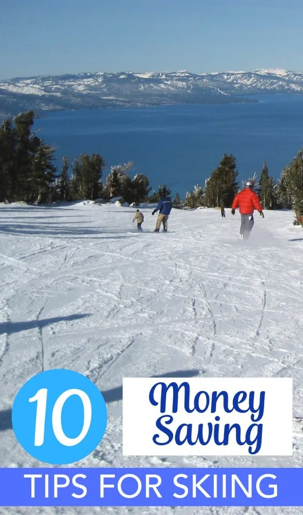 Money Saving Tips for Ski Vacations - Taking a family ski vacation this winter? Stick to your budget and save money with these tips, tricks, and secrets.