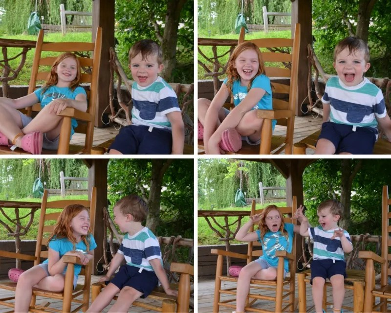 Tennessee Smoky Mountains with Kids - Sibling Togetherness