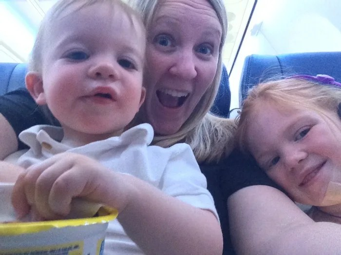 Traveling with a Sick Child - Sick Child on Plane