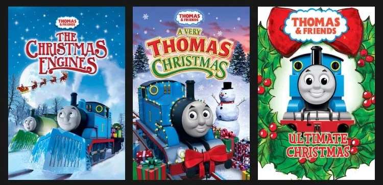 Netflix Christmas Shows - Thomas and Friends Downloads