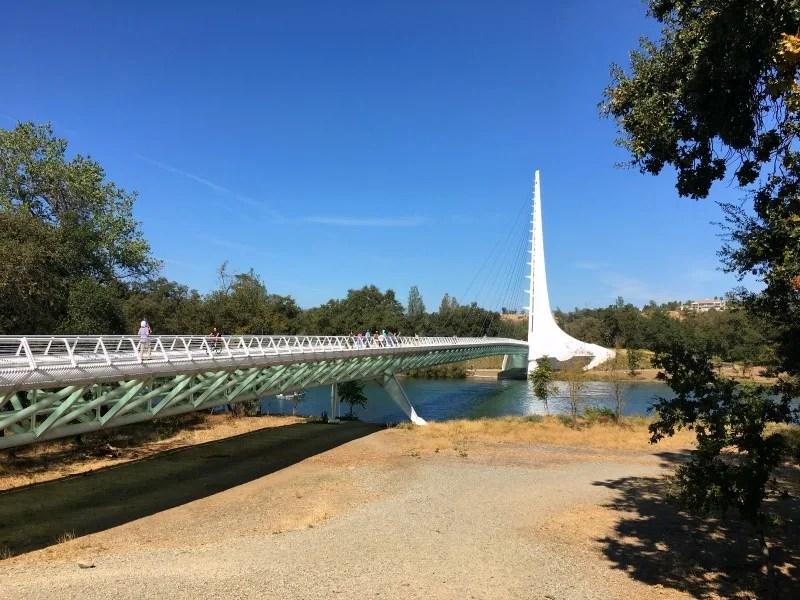 Redding California with Kids - Sundial Bridge Turtle Bay