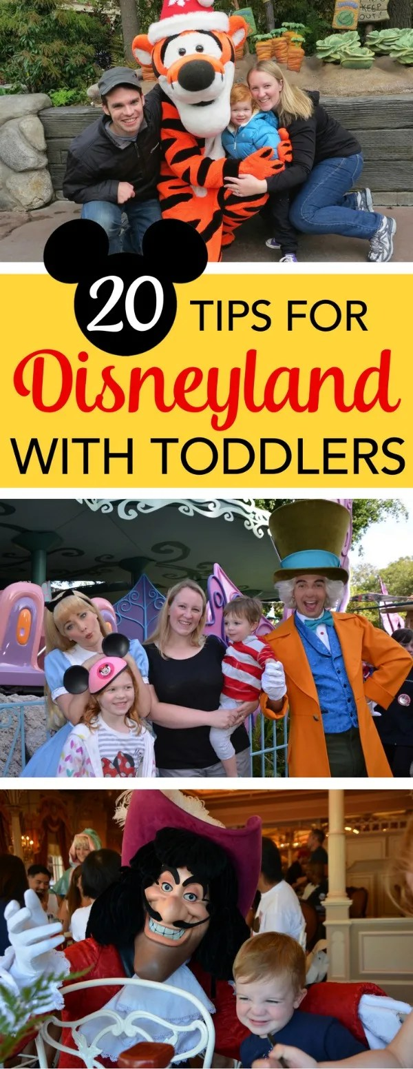 Visiting Disneyland with a toddler? These 20 tips will help you plan the most magical and stress-free Anaheim, California vacation at the Happiest Place on Earth with your little one.