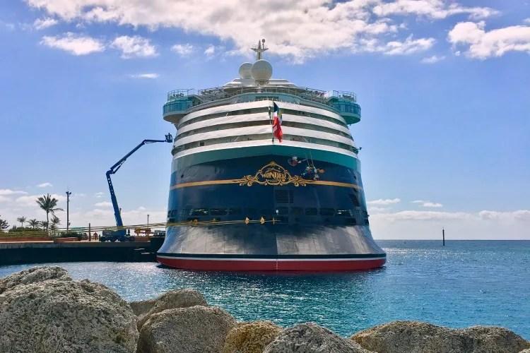 Disney Cruise Door Magnets - Disney Wonder