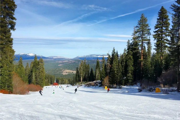 Skiing Northstar with Kids - Main Street