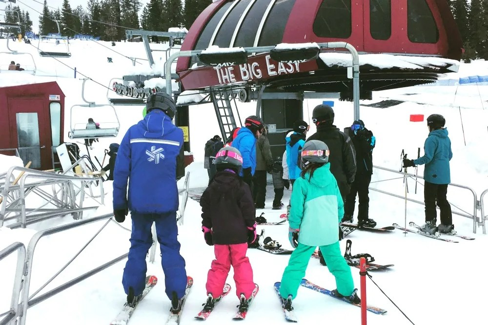 Skiing Northstar with Kids - Ultimate 4 Lesson