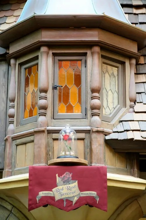 New at Disneyland 2017 - Red Rose Taverne