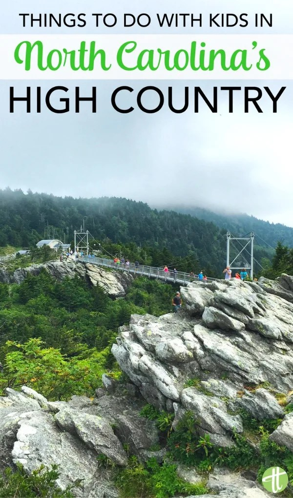 North Carolina High Country with Kids: Tips for a multigenerational vacation and things to do in Boone and Blowing Rock.