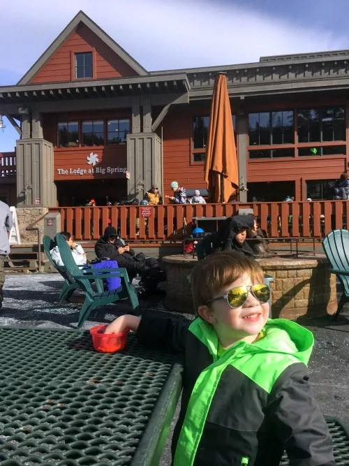 Northstar California Dining Guide - Lodge at Big Springs Patio