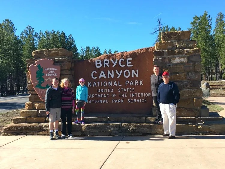 Bryce Canyon National Park Entrance