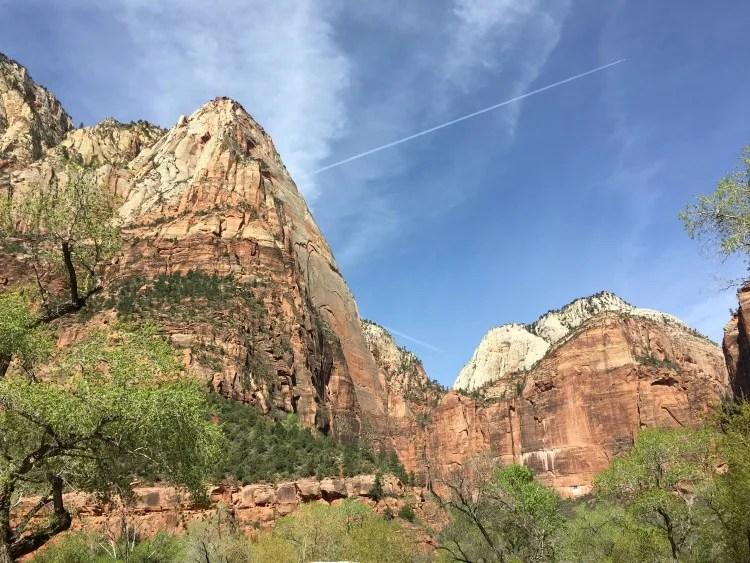Zion National Park Zion Canyon Views