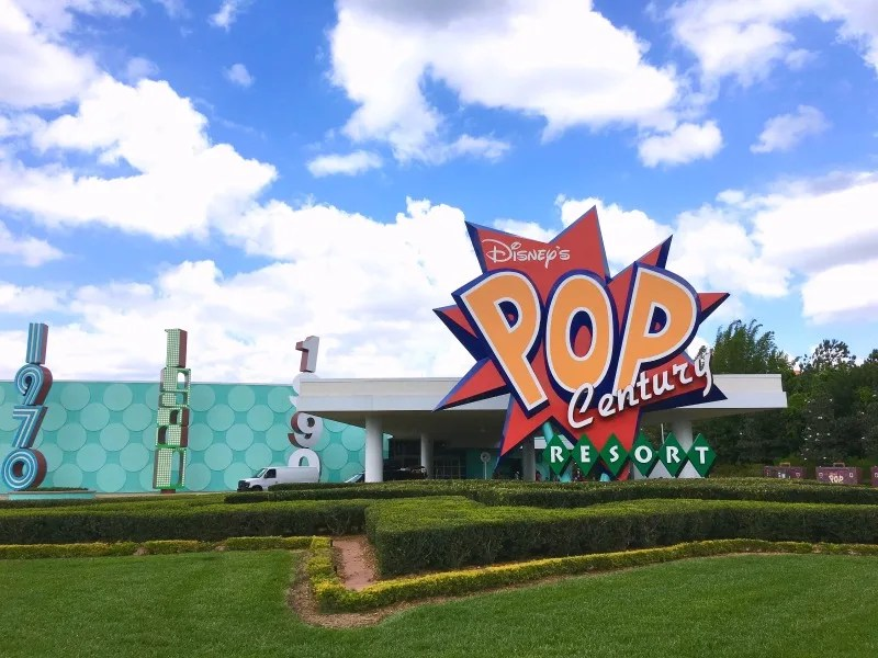 Disney World Resorts - Pop Century Value Resort
