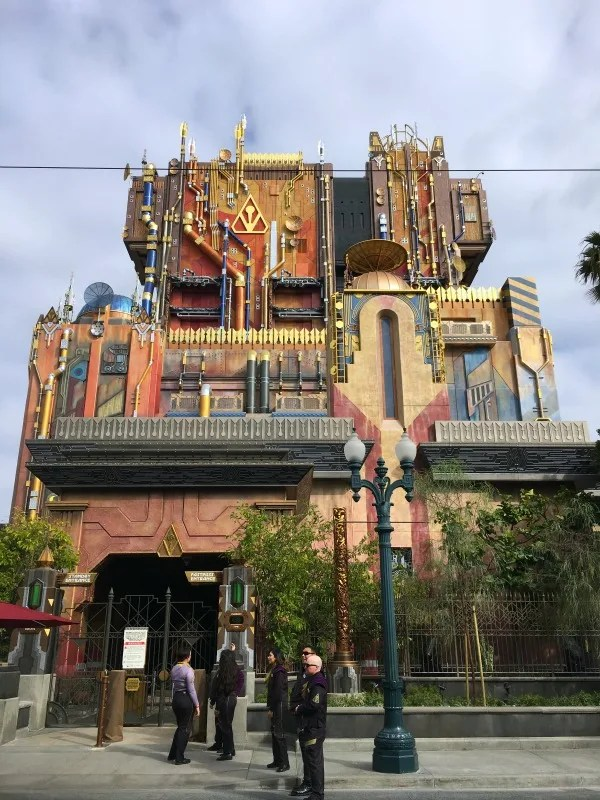 Guardians of the Galaxy Mission BREAKOUT - Ride Exterior Entrance