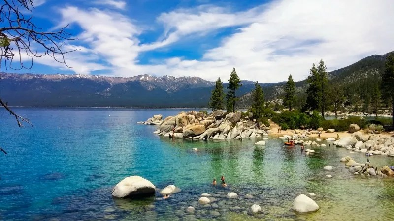 Summer Destinations in California - Lake Tahoe