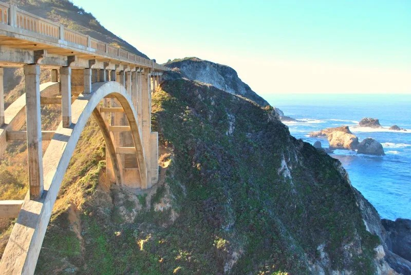 Things to Do in Monterey California with Kids - Bixby Bridge