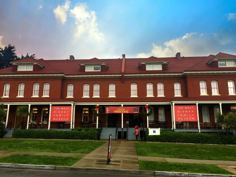 Walt Disney Family Museum with Kids - Exterior