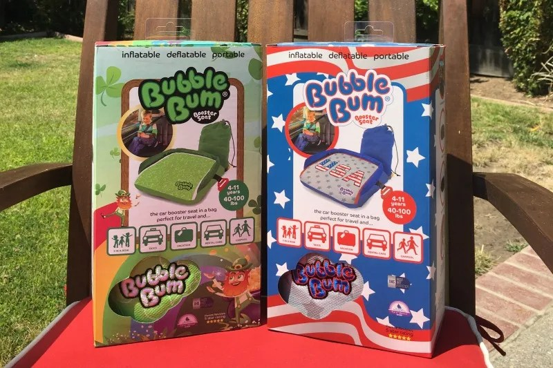 BubbleBum Review - USA and Ireland models