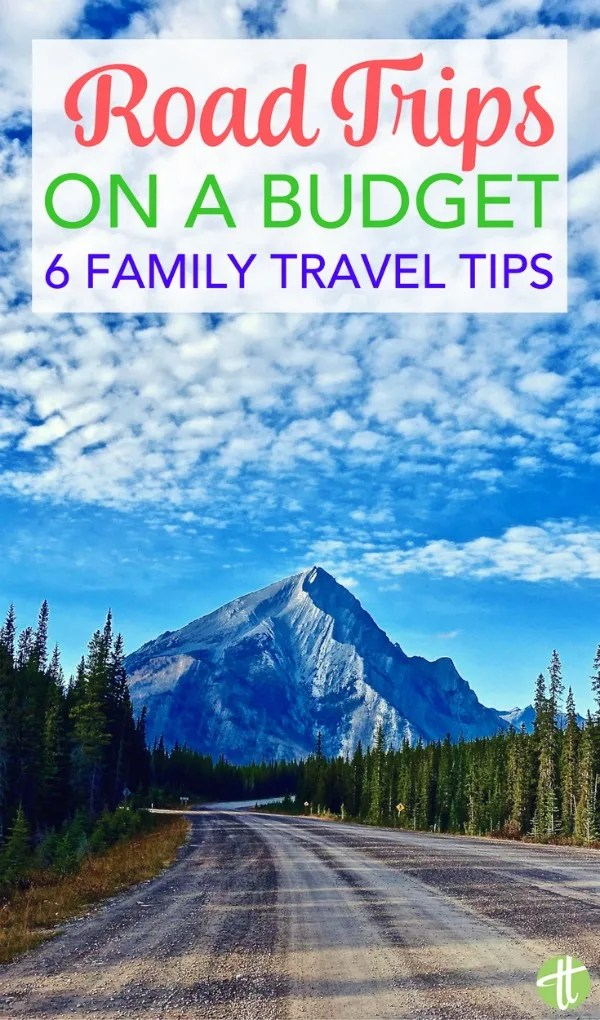 Planning a family road trip? Money-saving tips and tricks for sticking to a budget on your next family vacation.