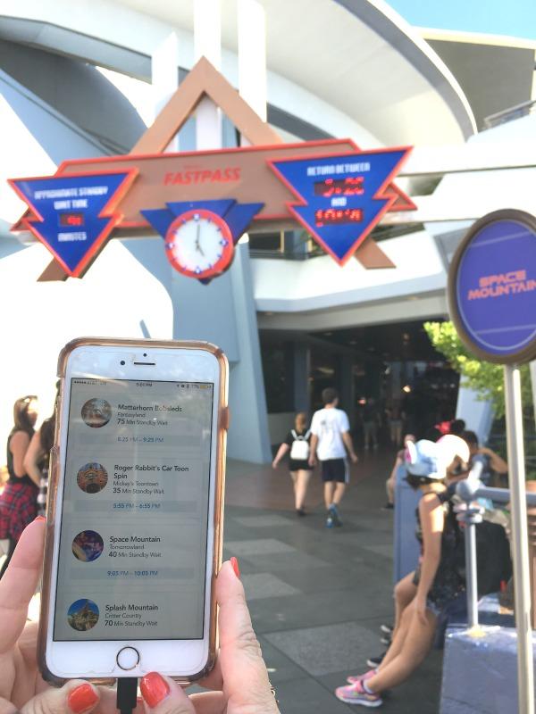 Disneyland Maxpass - App vs. Kiosk Return Times