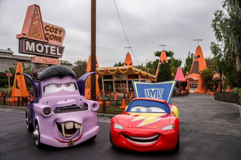 New at Disneyland Fall Winter 2017 - Cars Land Haul O Ween
