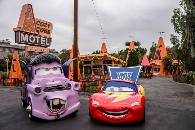 New at Disneyland Fall Winter 2017 - Cars Land Haul O Ween
