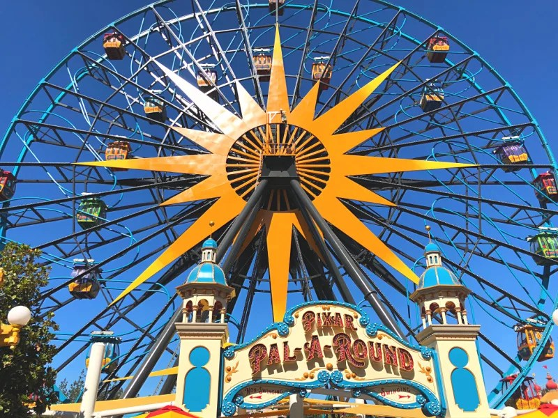 New at Disneyland Fall Winter 2018 - Pixar Pal A Round