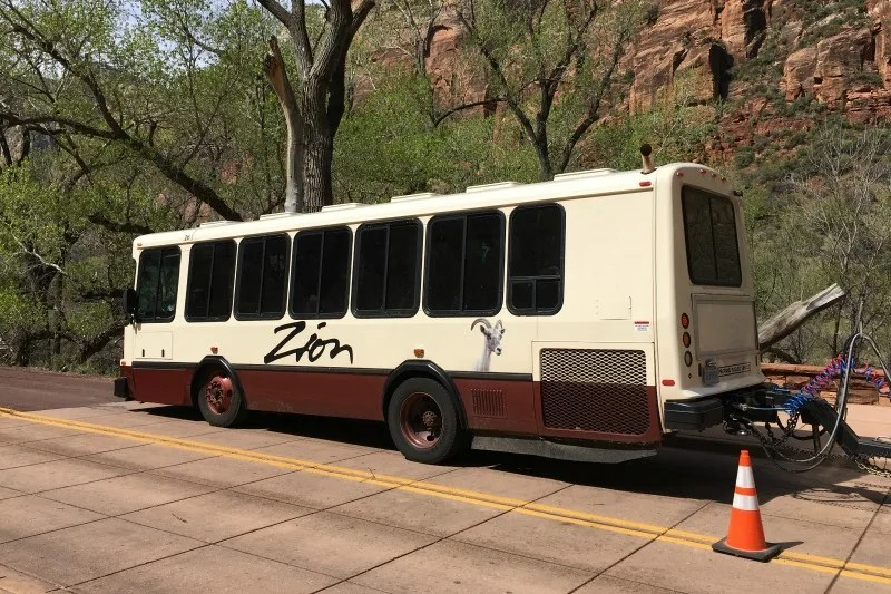 National Parks Tips for Beginners - Zion Shuttle System