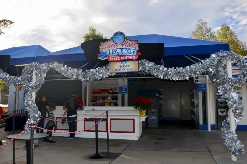 WinterFest at Great America - Snow Flake Lake Skate Rentals