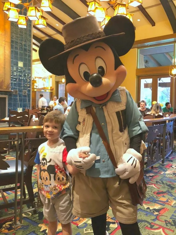 Character Meals at Disneyland - Mickeys Tales of Adventure