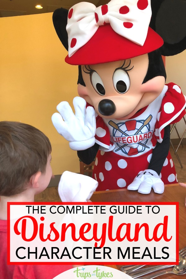 Considering a character meal at Disneyland? Pick the right restaurant for your character dining experience with this complete guide. Menu choices, characters in appearance, plus lots of tips and tricks. #disneyland #charactermeal #characterbreakfast #disney