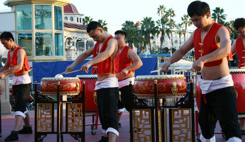 Disneyland Lunar New Year - Drum Performance