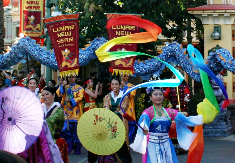 Disneyland Lunar New Year - Parade Processional