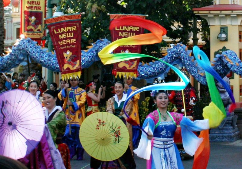 Disneyland Lunar New Year - Parade Processional