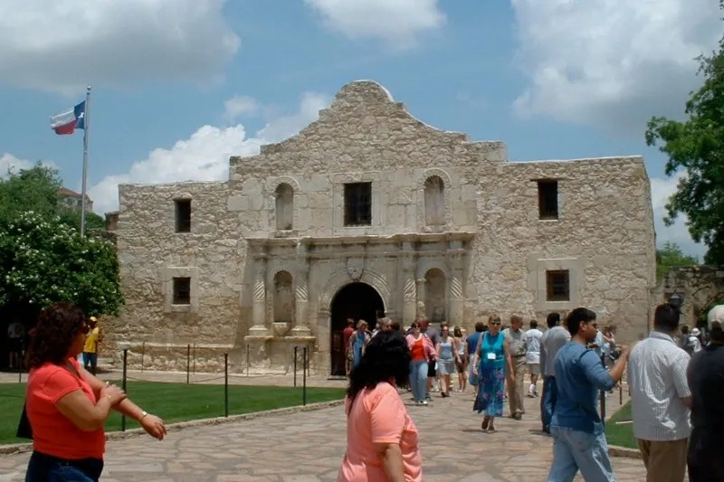 Warm Weather Getaways for Families in Winter - San Antonio Alamo