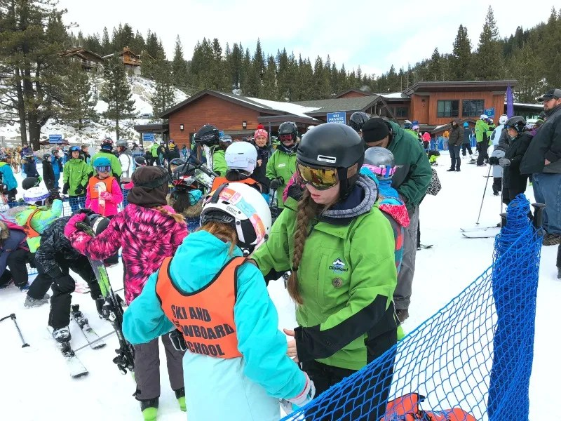 Child Ski School - Sierra Scouts at Diamond Peak