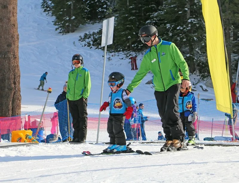 First Time Ski School - Bunny Slope
