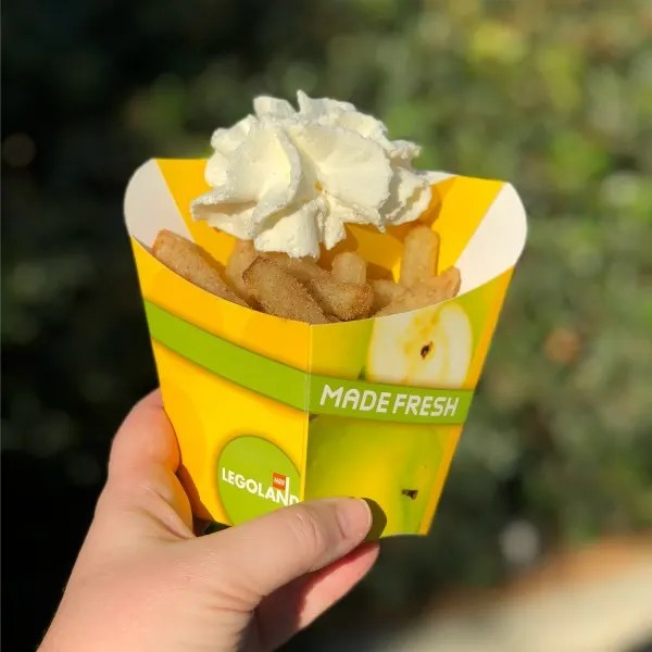 Legoland California on a Budget - Apple Fries