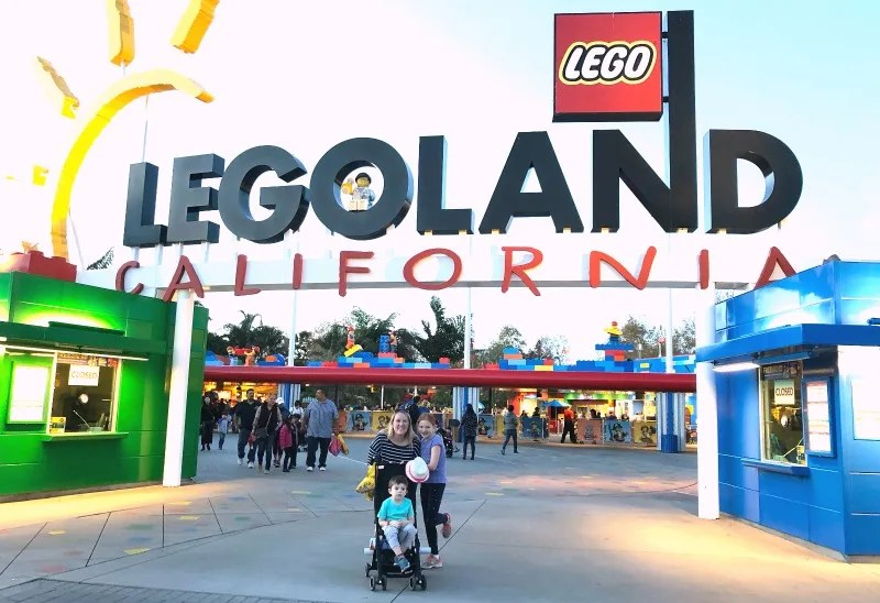 Legoland California on a Budget - Bring Your Own Stroller