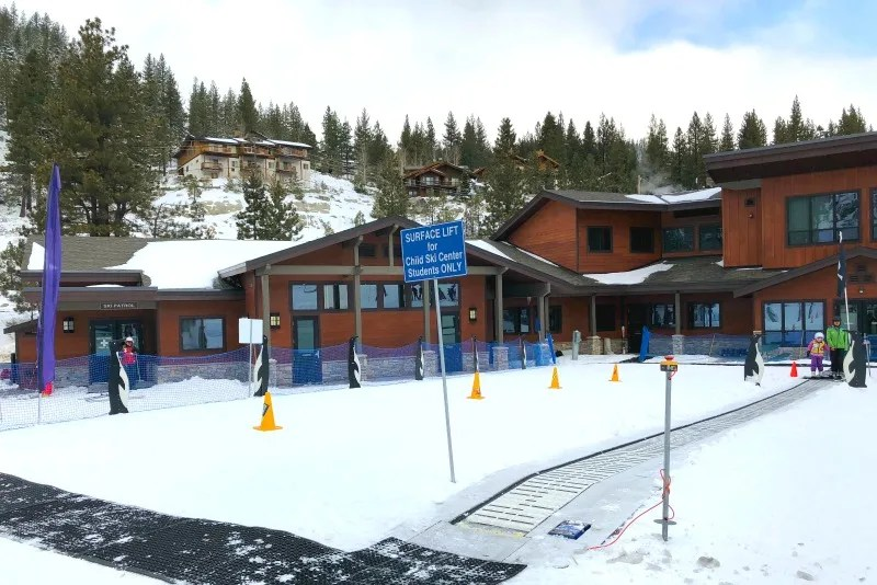 Diamond Peak's Child Ski Center in Incline Village, Nevada