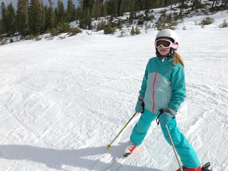 Why Ski School is Worth It - 8 Year Old Skiing