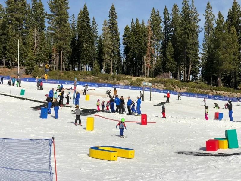 Why Ski School is Worth it for Kids - Northstar California Ski School Magic Carpet