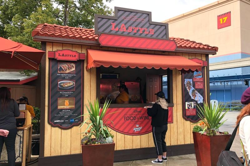 Disneyland Food and Wine Festival - LA Style Festival Marketplace