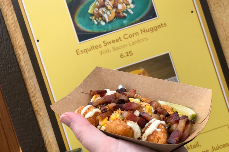 Disneyland Food and Wine - Sweet Corn Nuggets