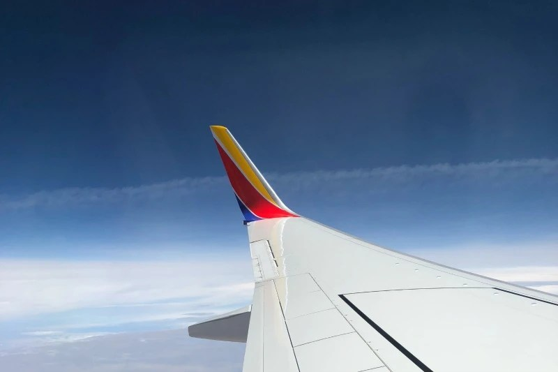 Southwest Credit Cards - View from Wing Winglet