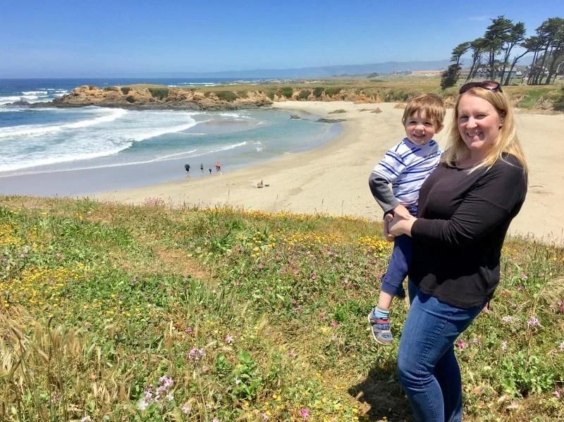 Mendocino County California with Kids - Fort Bragg Beach
