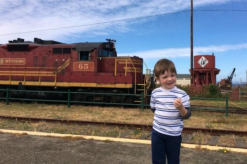 Mendocino County California with Kids - Skunk Train
