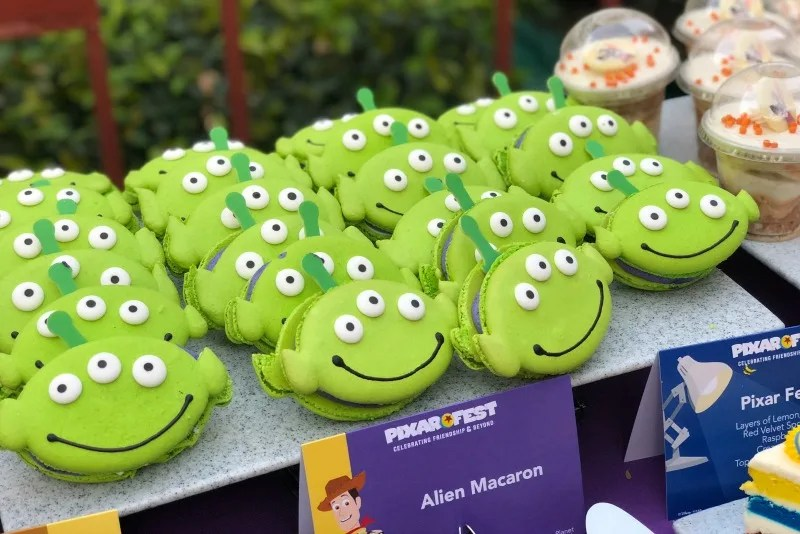 Pixar Fest at Disneyland - Alien Macaron